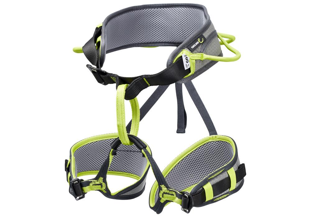 Edelrid Klettergurt Zack : Edelrid zack harness slate oasis campz.ch